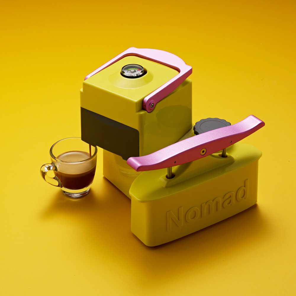 NOMAD|ESPRESSO MACHINE(黃)木箱款