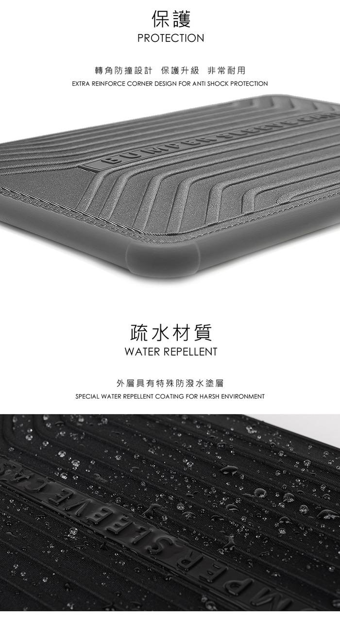 【WiWU】Voyage Sleeve 13.3吋 防撞防潑水電腦包-3色