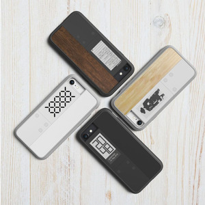 OAXIS|Ink case IVY 雙螢幕手機殼 for iPhone7 - 黑色