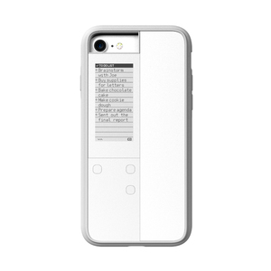 OAXIS|Ink case IVY 雙螢幕手機殼 for iPhone7 - 白色