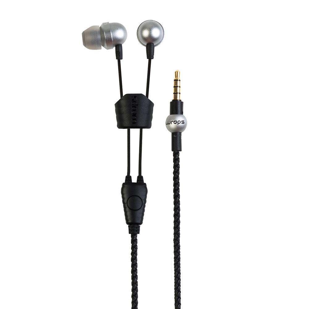 英國 Wraps|【Core】時尚金屬系手環耳機