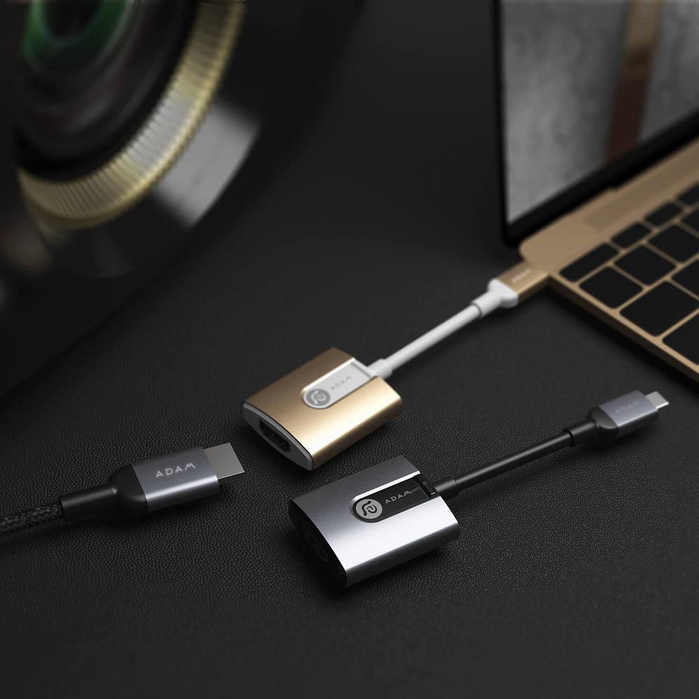 ADAM|CASA H01 USB-C 對 HDMI 轉接器