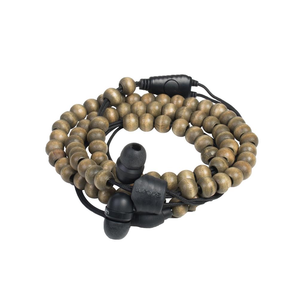 英國 Wraps|【Natural】時尚自然系手環耳機
