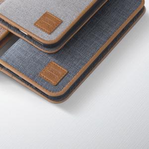 SKINARMA|AKI 日系風帆布翻頁式保護殼 for iPhone 7