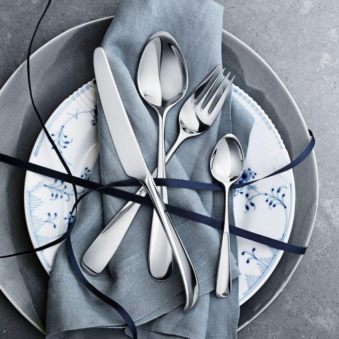 (複製)北歐櫥窗 Georg Jensen|Vivianna 朵蘭四件餐具禮盒組(鏡面)