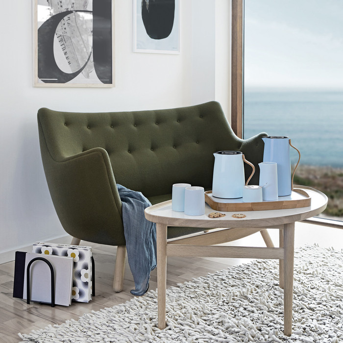 北歐櫥窗 Stelton|Emma 的幸福茶器 雪竹茶盤