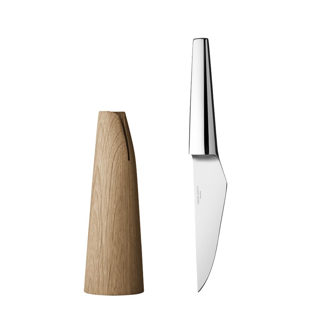 北歐櫥窗 Georg Jensen Living|Barbry水果刀(含座)