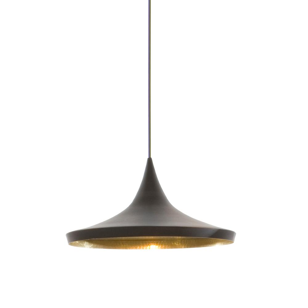 北歐櫥窗 Tom Dixon|Beat 黑金印度壺型吊燈