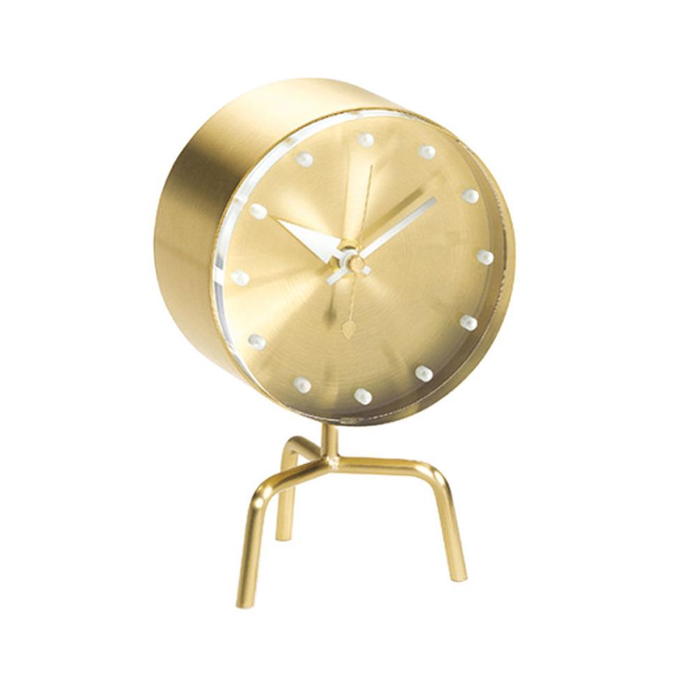 北歐櫥窗 Vitra|Tripod Clock 三角架桌鐘