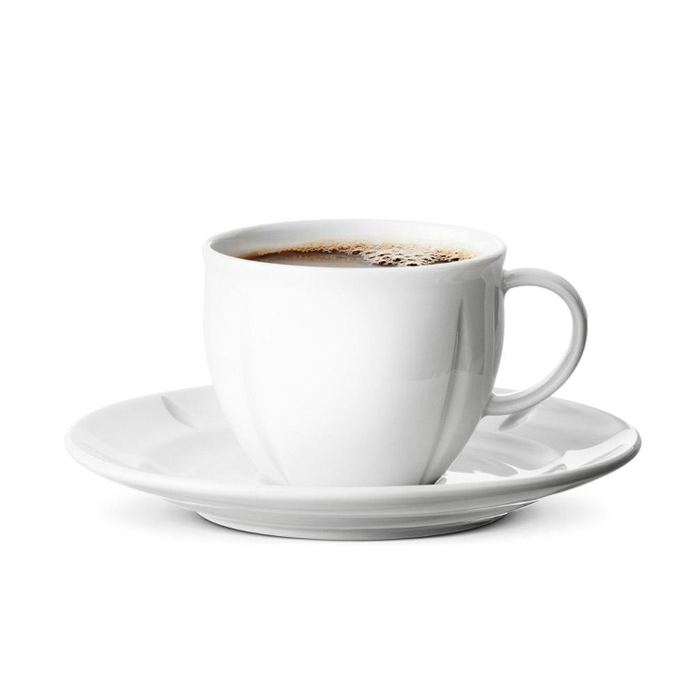 北歐櫥窗 Rosendahl|Grand Cru Soft 咖啡瓷杯盤 (280ml)