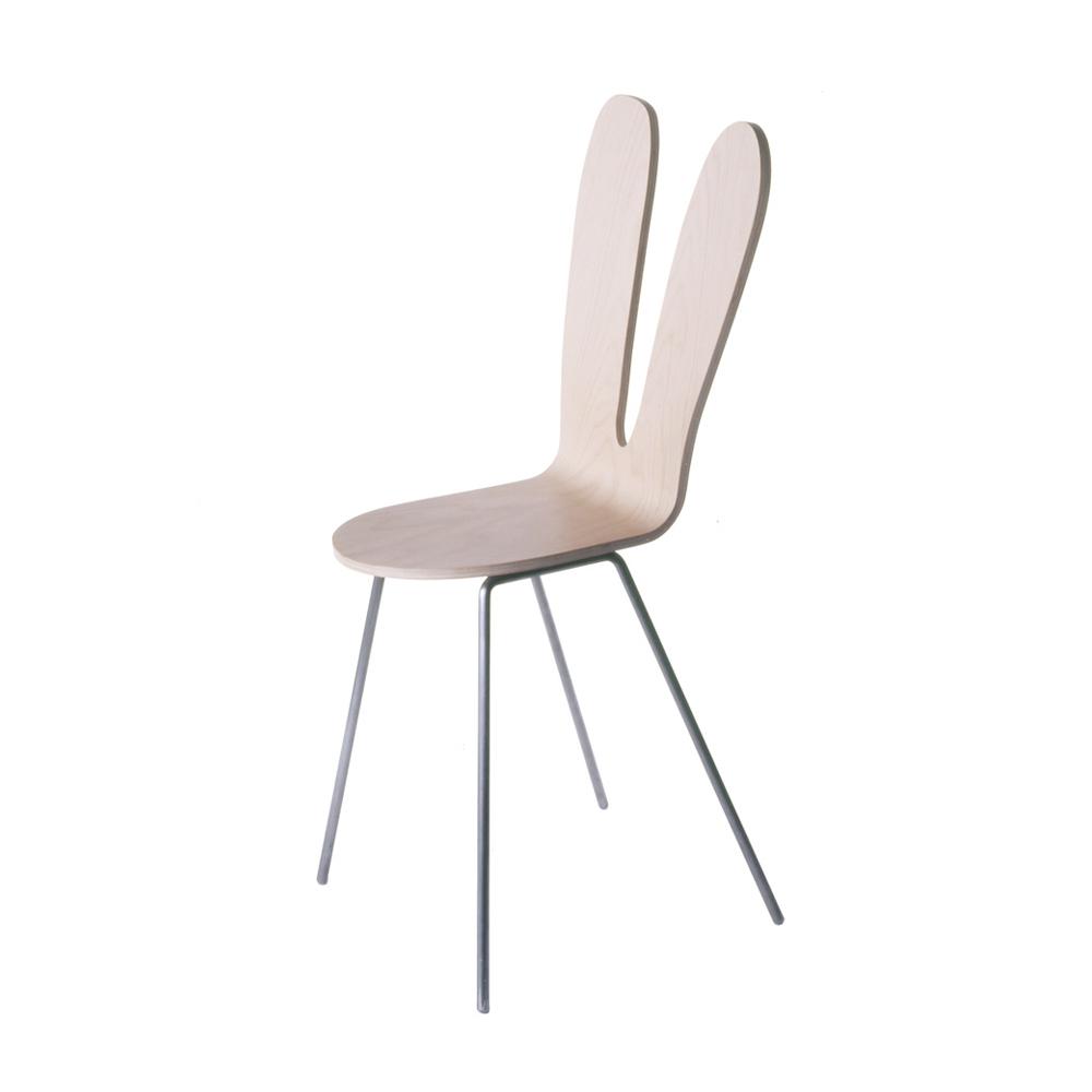 北歐櫥窗 maruni SANAA 兔子椅(原色兔)