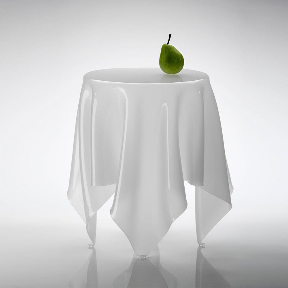 北歐櫥窗 Essey 魔幻巾桌(薄霧白、小)