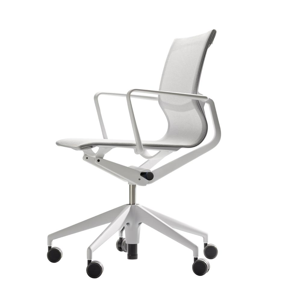北歐櫥窗 Vitra|Physix 翩然有序 工作椅(白銀灰)