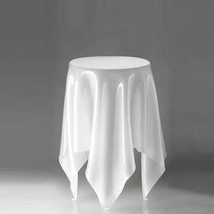 北歐櫥窗 Essey 魔幻巾桌(冰雪白、高)