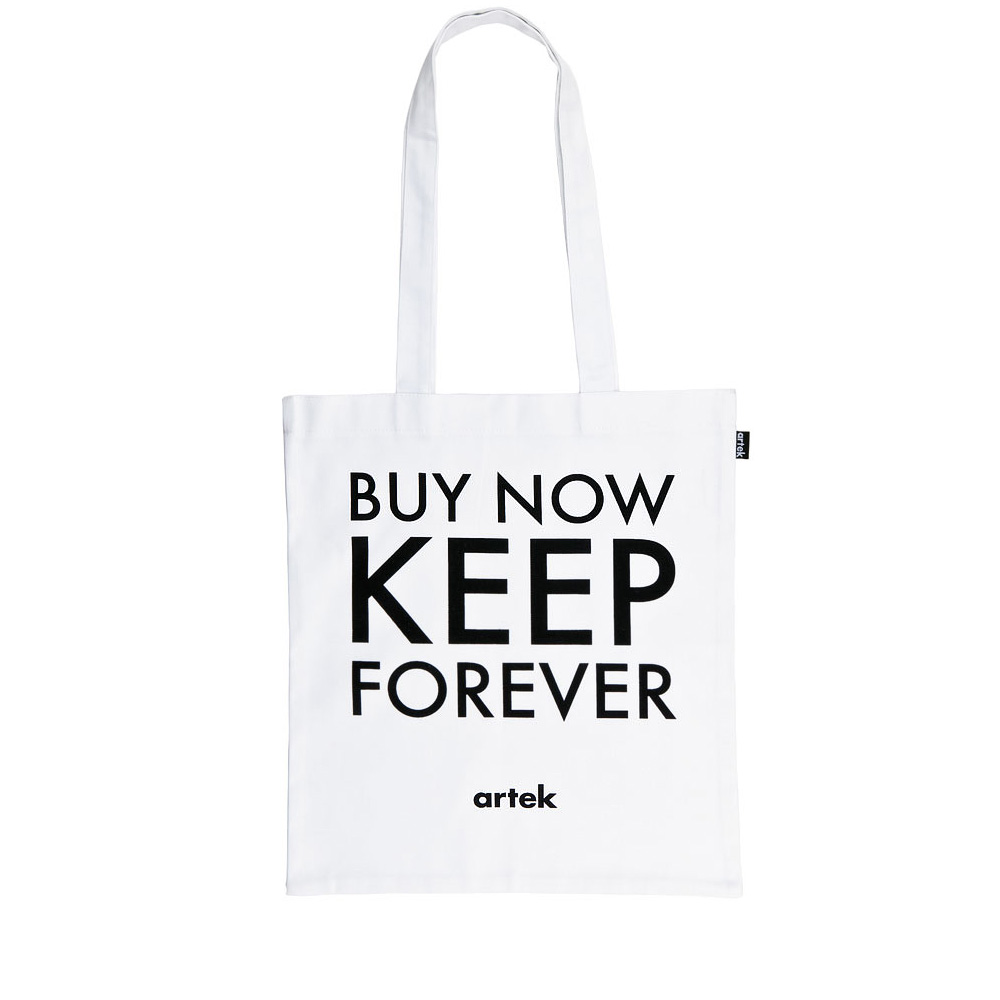 北歐櫥窗 Artek|Buy Now Keep Forever 肩背手提袋