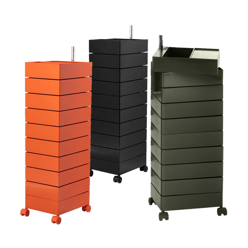 北歐櫥窗 Magis 360 Container 滾輪十層置物櫃