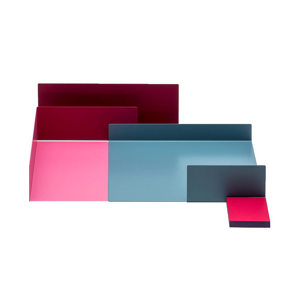 北歐櫥窗 Perrocaliente Color Object 自在收納組(托盤三入+便條紙)