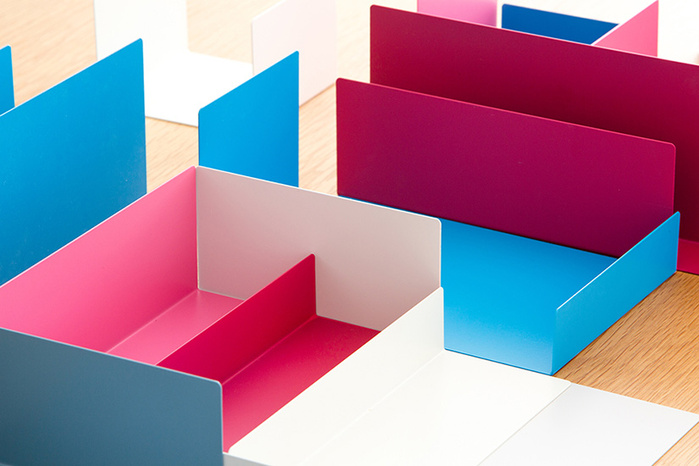 北歐櫥窗 Perrocaliente|Color Object 自在收納組(托盤四入+便條紙)