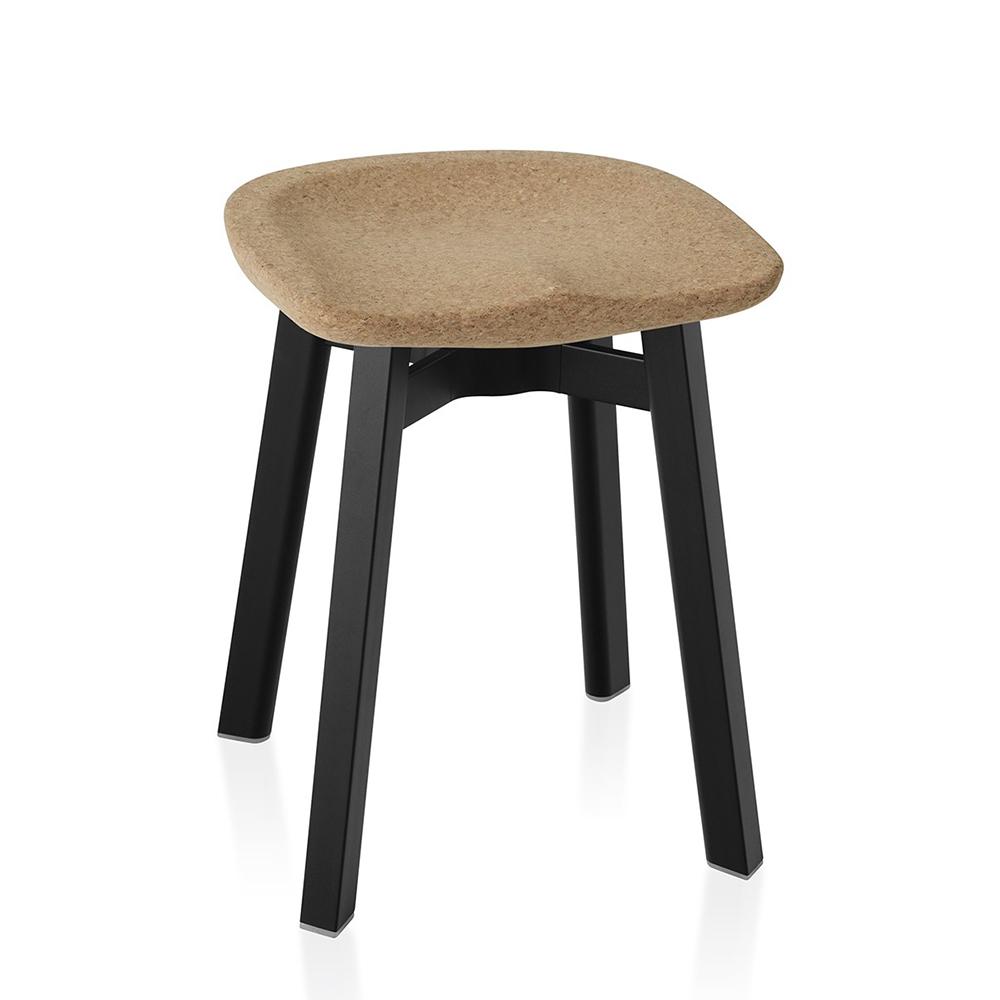 北歐櫥窗 Emeco|SU 雅室素凳(橡木座 x 黑鋁腳)