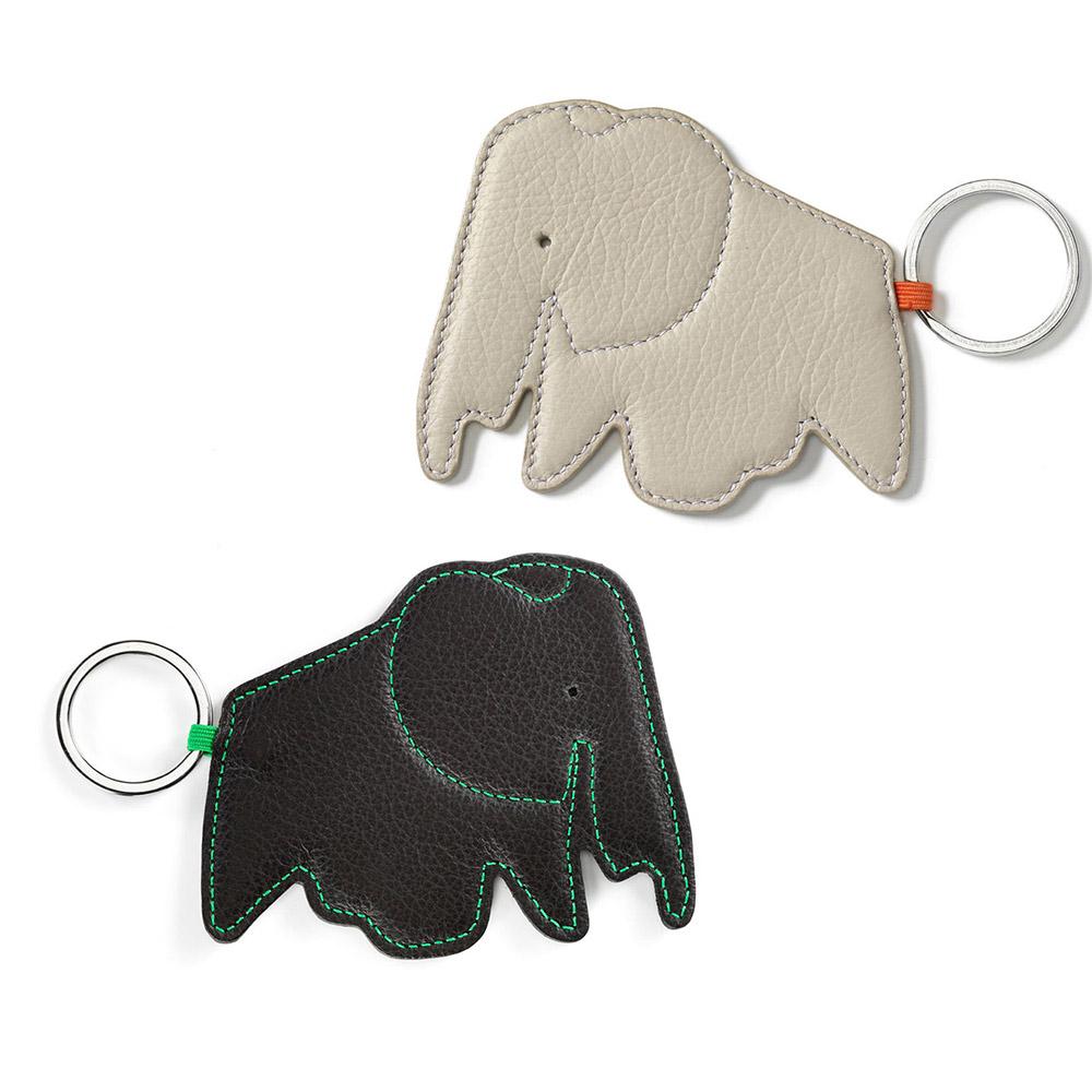 北歐櫥窗 Vitra Eames Elephant Key Ring 大象皮革鑰匙圈
