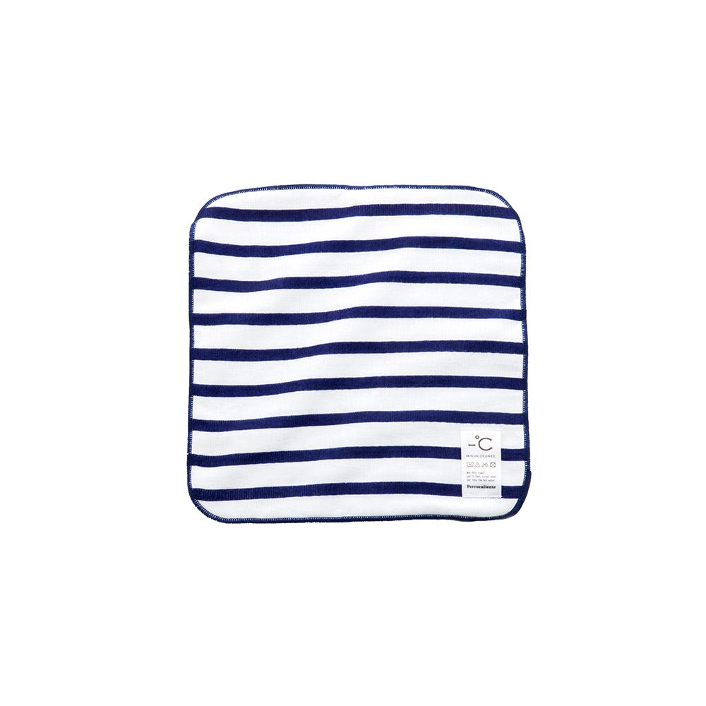 北歐櫥窗 Perrocaliente|Minus Degree Soft 親柔涼感手巾(條紋、海軍藍)