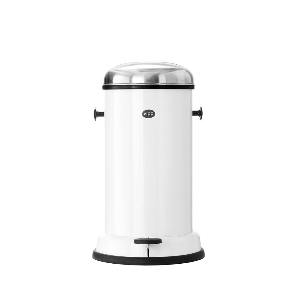 北歐櫥窗 VIPP |垃圾桶  (白、14L)
