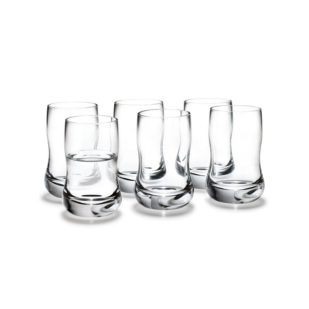 北歐櫥窗 Holmegaard|舞動未來 SHOT 酒杯(6 入一組、60 ml)