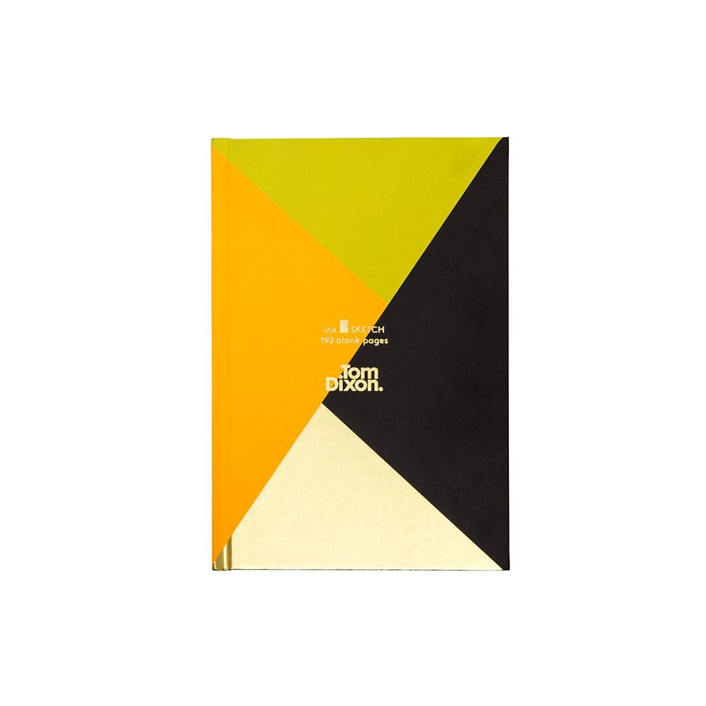 北歐櫥窗 Tom Dixon Ink Sketch Book 輝煌幾何燙金速寫本