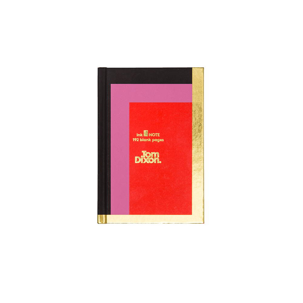 北歐櫥窗 Tom Dixon|Ink Notebook 輝煌幾何燙金筆記本