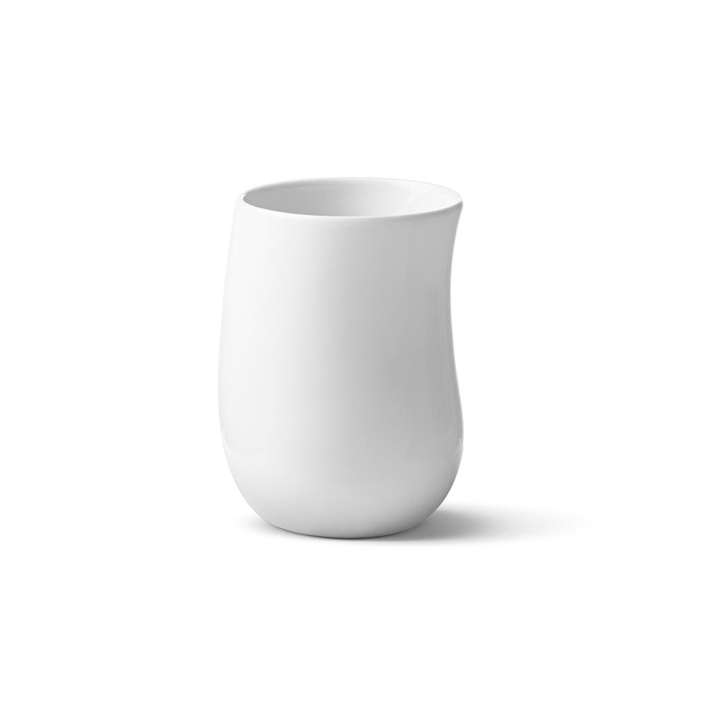 北歐櫥窗 Georg Jensen|Cobra 波浪白瓷保溫杯 (300 ml)