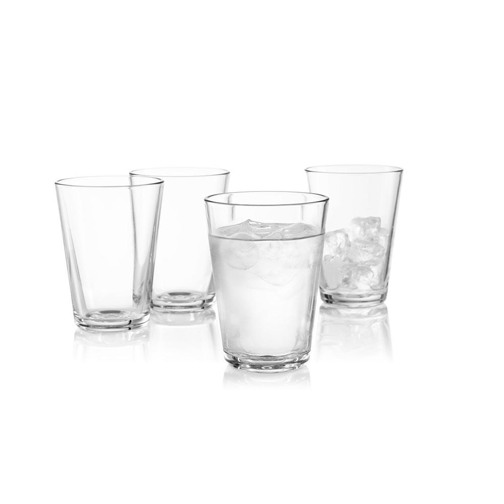 北歐櫥窗 eva solo|波紋水杯(4杯禮盒組、380cc)