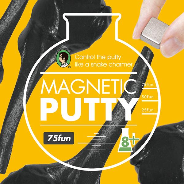 賽先生科學工廠|瘋狂磁性黏土