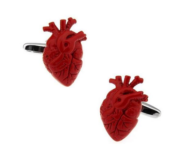賽先生科學工廠|New Sexy-科學袖扣 (心臟)