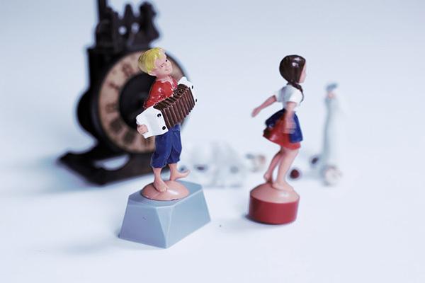 賽先生科學工廠|德國趣味磁力擺飾-手風琴舞蹈家