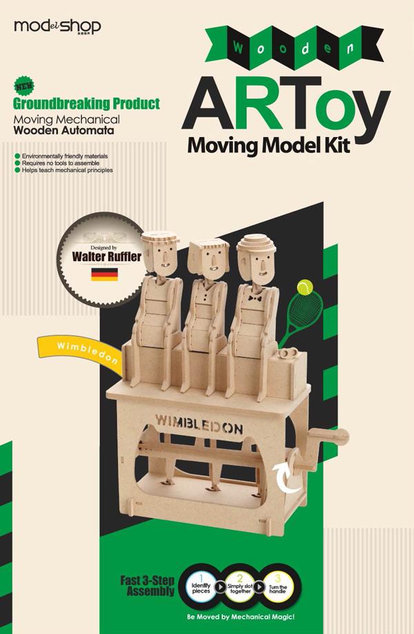 賽先生科學工廠|異想模界-木作模型 溫布頓