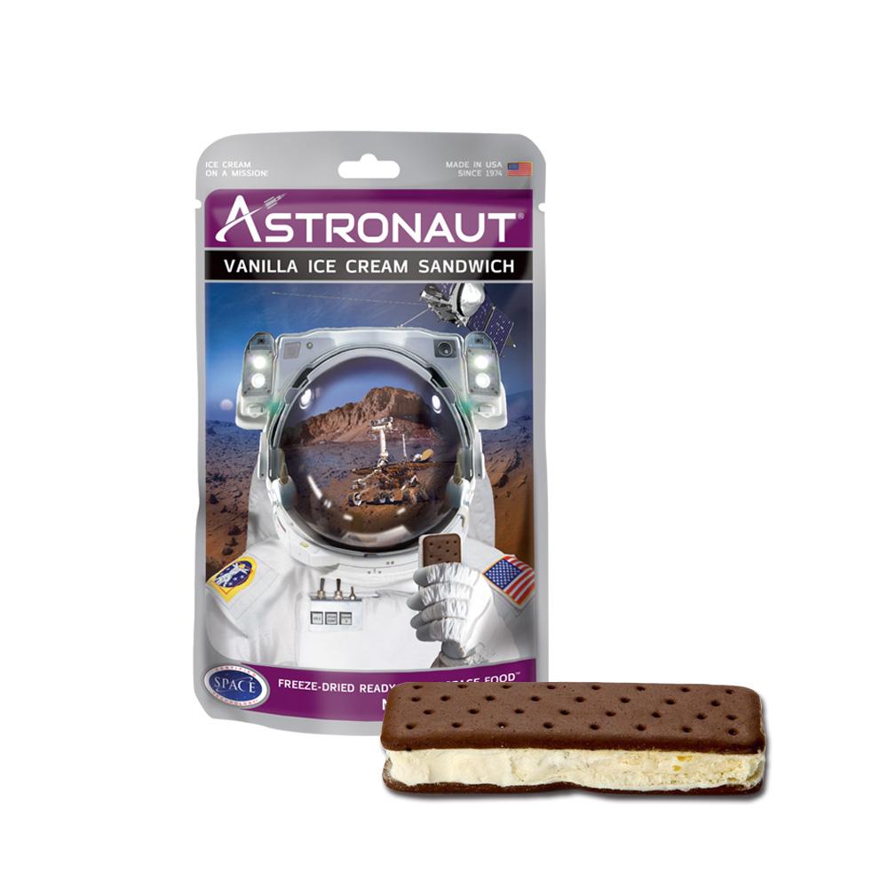 賽先生科學工廠|太空食品 太空冰淇淋餅乾 (兩款口味2入)