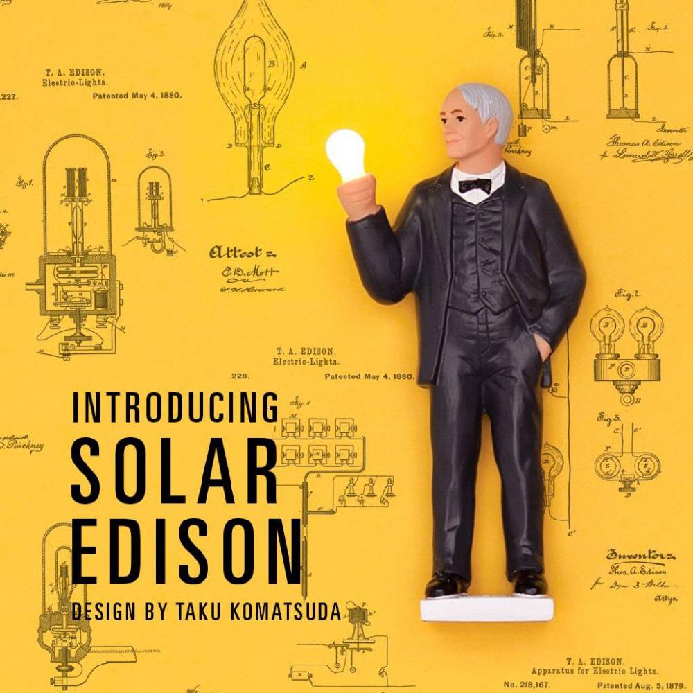 賽先生科學工廠|太陽能愛迪生亮燈公仔