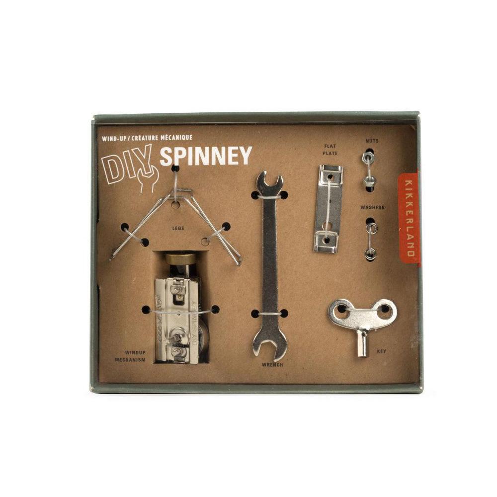 賽先生科學工廠 來組機械蟲!DIY Spinney