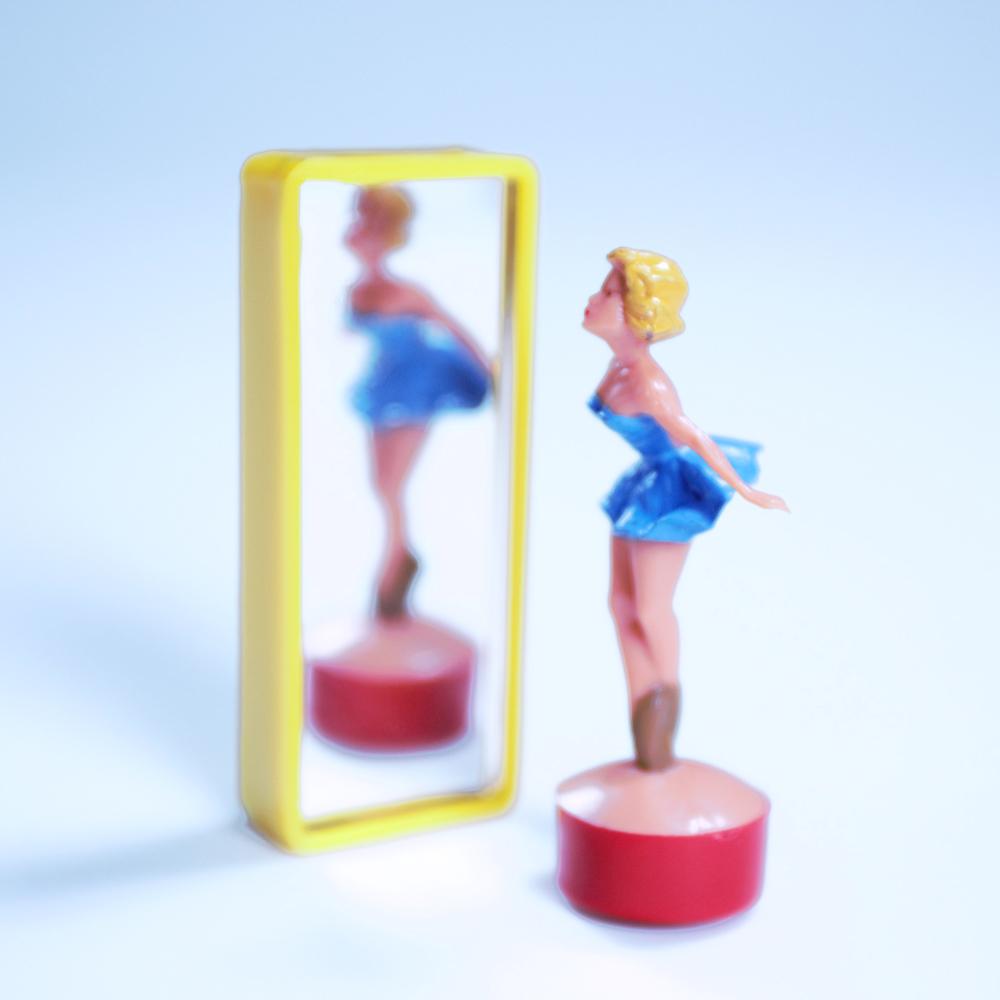 賽先生科學工廠|德國趣味磁力擺飾-鏡中芭蕾舞者