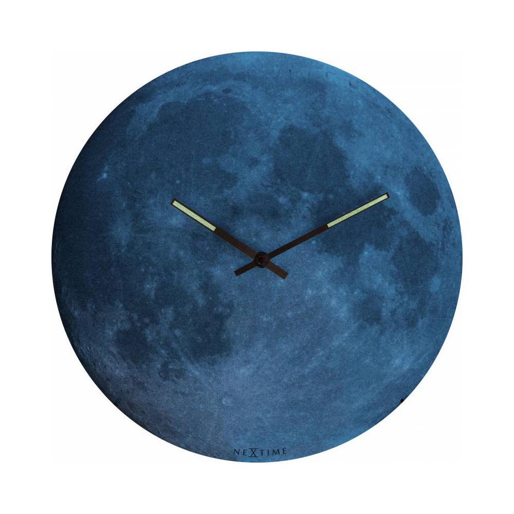 賽先生科學工廠 夜光月球時鐘(暗夜藍)