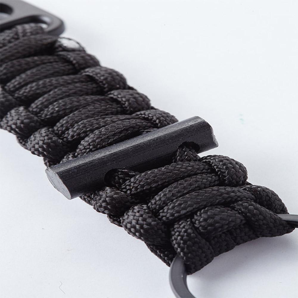 Bomber & Company|黑色傘繩鑰匙圈