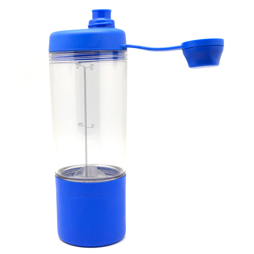 Fuelshaker Pro|運動能量手搖杯 - 藍色