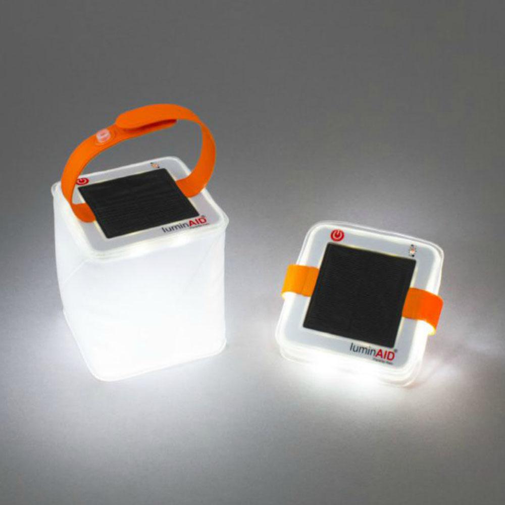 LuminAID|PackLite Halo 太陽能水陸兩用光援燈籠露營燈
