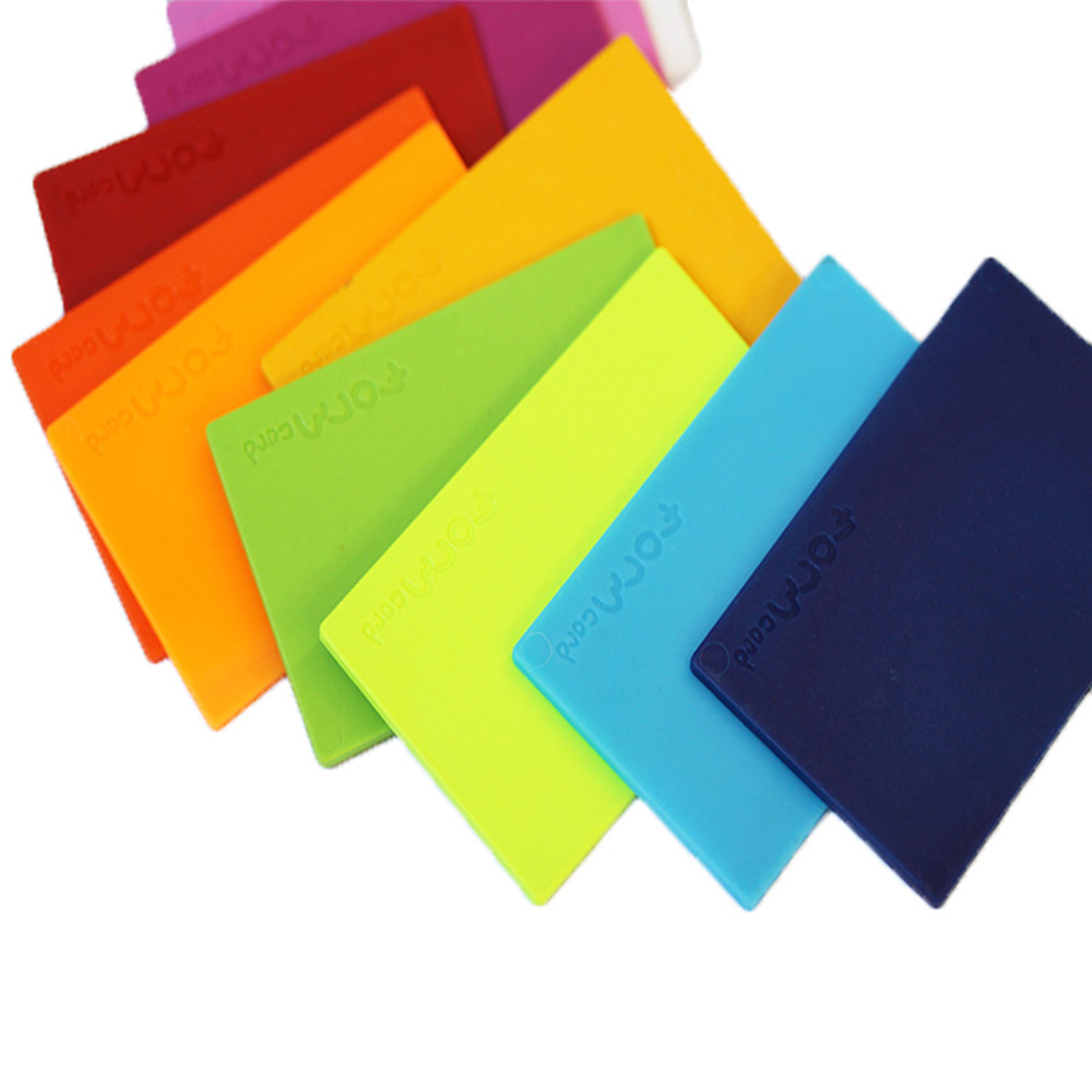 FORMcard|多功能隨身塑形凝土 - 紅/藍/黃