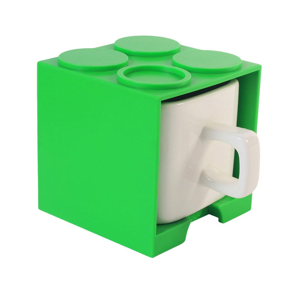 Gattola|可愛上班休閒時尚 馬克杯 大 - 綠色