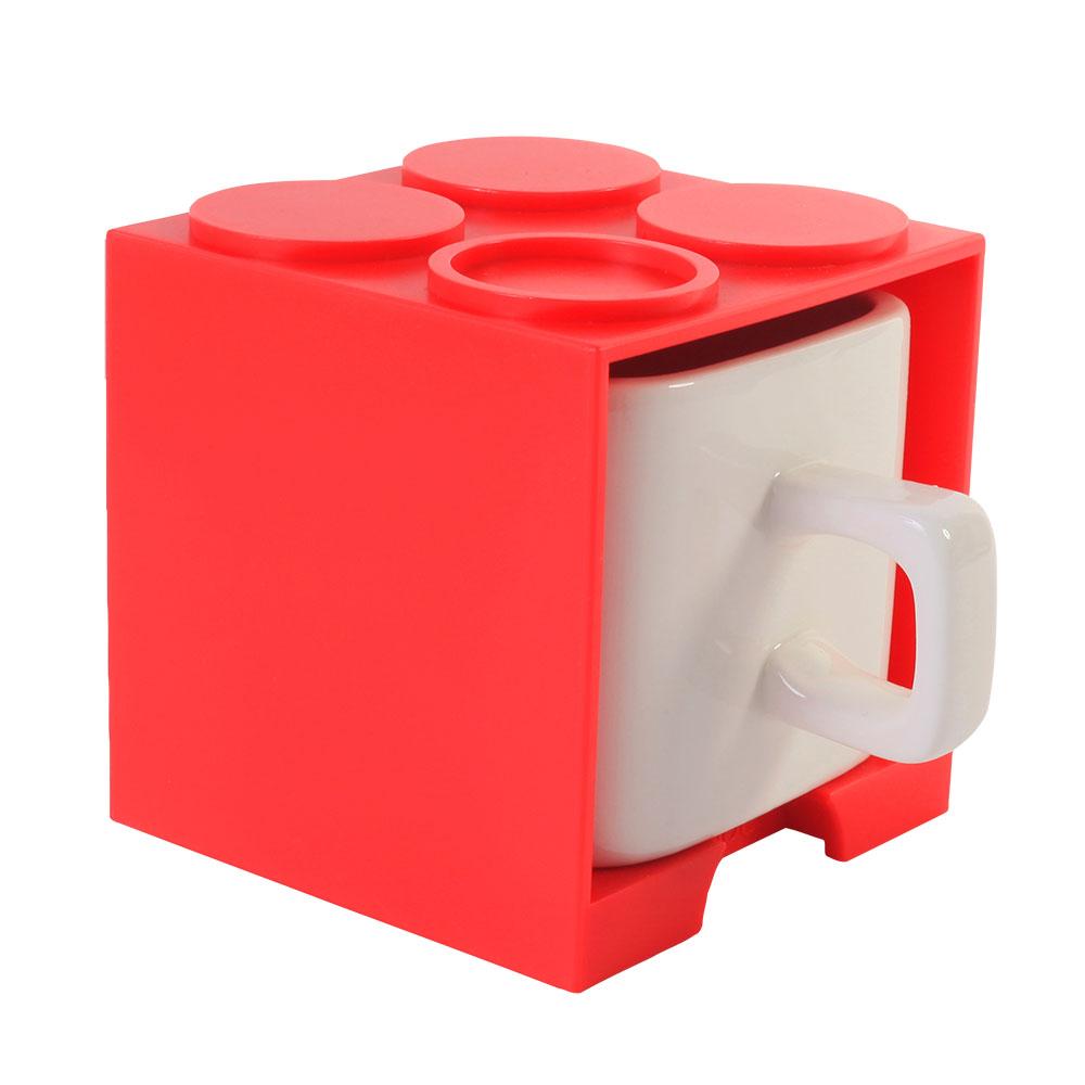 Gattola 可愛上班休閒時尚 馬克杯 小 - 紅色