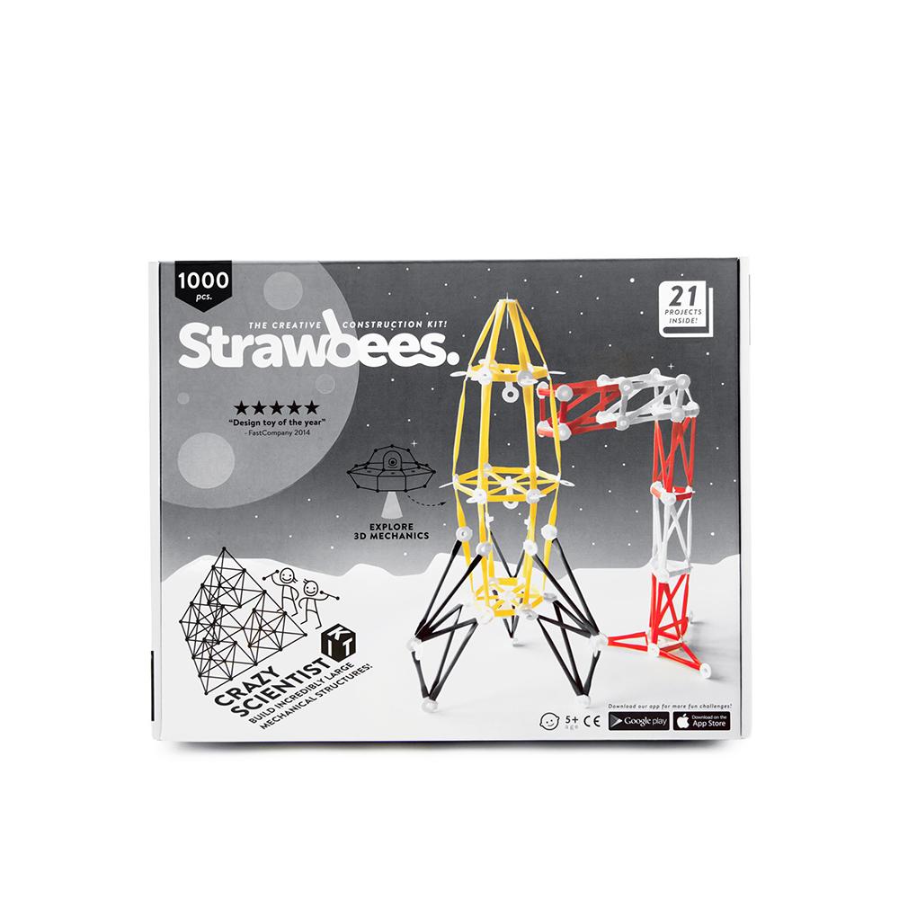 Strawbees|多樣巧拼創意吸管 - 瘋狂科學家組合