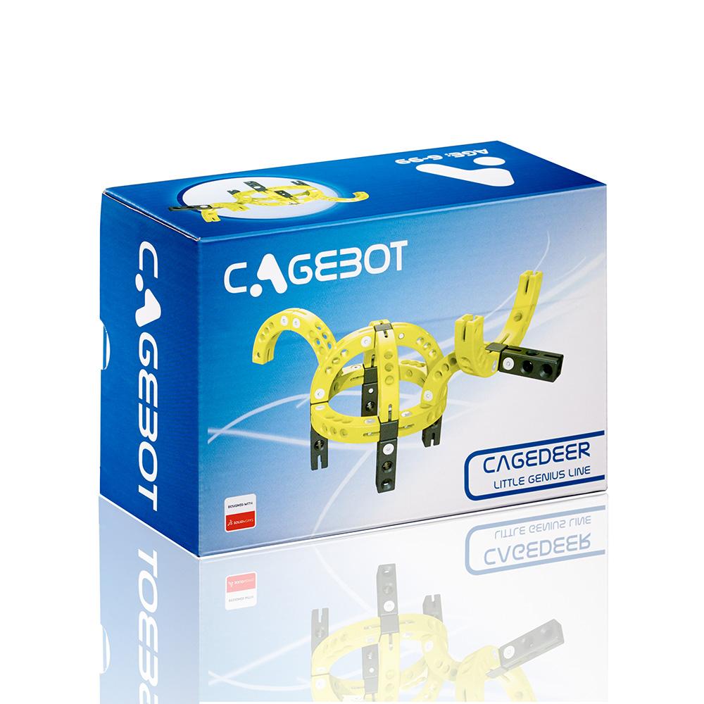 Cagebot|多功能電動智能積木 - 智能小鹿