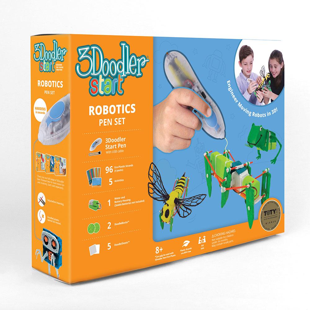 3Doodler|Start 3D列印筆 機器人組合