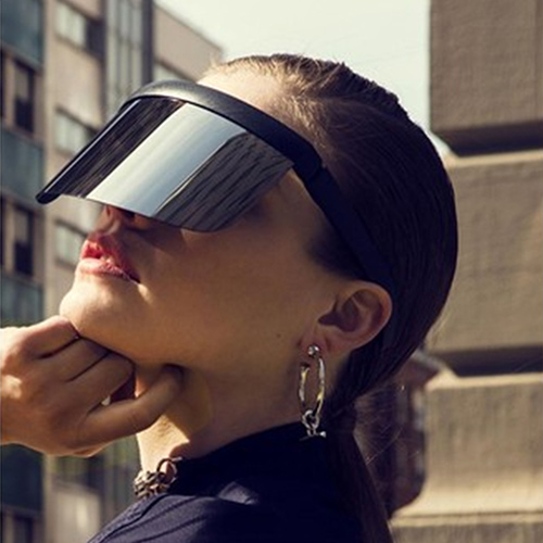 VISOR 超大面板UV防曬太陽眼鏡(買一送)